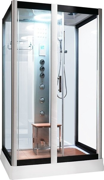Serenity Steam Shower White