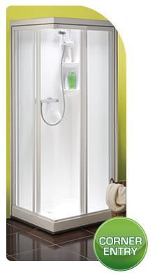 Kubex Kingston - Corner Door Shower Pod