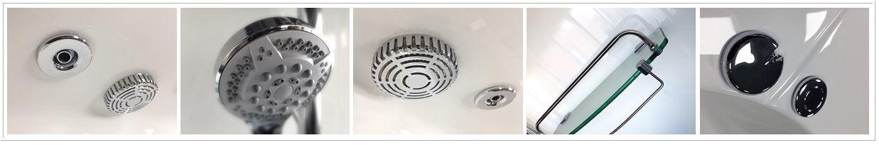 Alto Shower Features