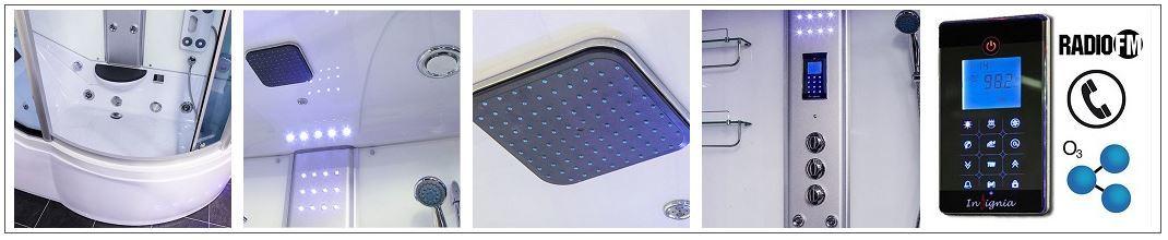 GT8058WL Shower Interior