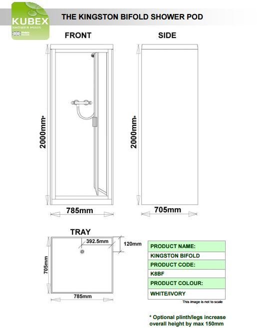 Kubex Kingston Schematic - Bi-Fold Door