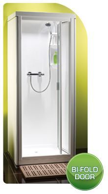 Shower Pod Kubex Kingston Bi-Fold Door