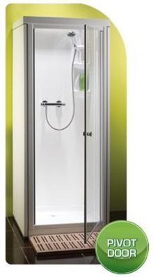 Kubex Kingston Compact - Pivot Door Shower Pod