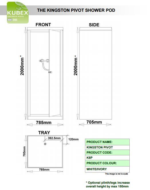 Kubex Kingston Schematic - Pivot Door