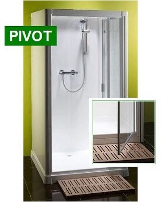 Shower Cabin Kubex Profile 900 - Pivot Door