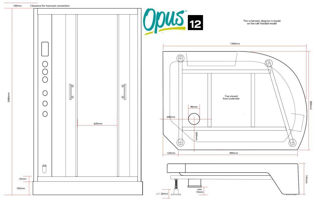 Opus12R Black - Opus 12 R